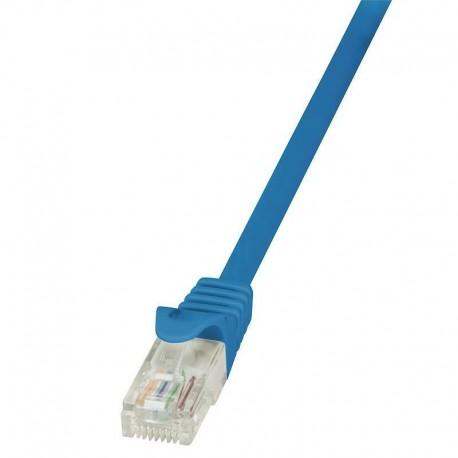 Patchcord LogiLink CP1016U CAT5e U/UTP 0,25m, niebieski