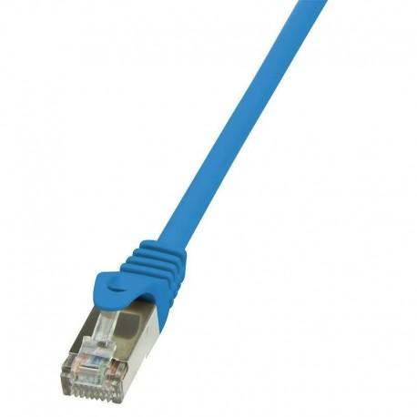 Patchcord LogiLink CP1056S CAT5e F/UTP 2m, niebieski