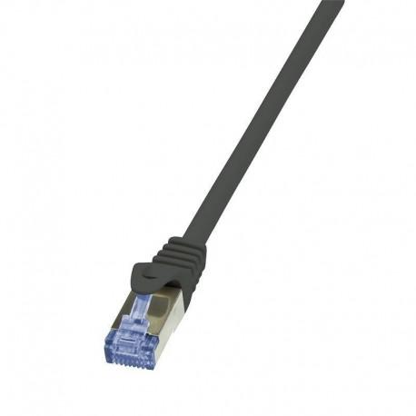 Patchcord LogiLink CQ4023S Cat.6A/7 600 MHz S/FTP PIMF 0,50m czarny