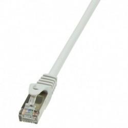 Patchcord LogiLink CP1012D CAT5e SF/UTP 0,25m, szary