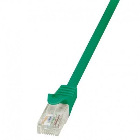 Patchcord LogiLink CP1025U CAT5e U/UTP 0,50m, zielony