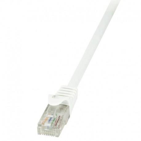 Patchcord LogiLink CP2021U CAT.6 U/UTP 0,50m, biały