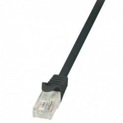 Patchcord LogiLink CP2023U CAT.6 U/UTP 0,50m, czarny