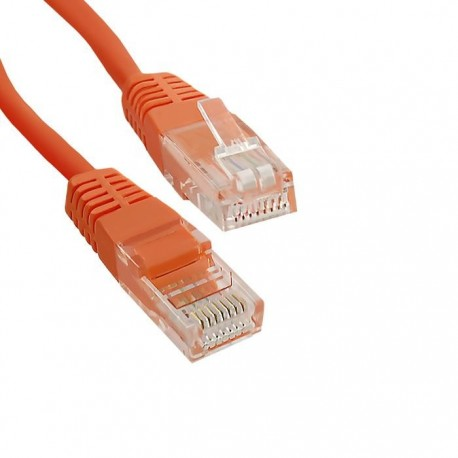 Patchcord Qoltec CROSSOVER, CAT5E UTP 0,5m
