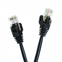 Patchcord UTP START.LAN cat.6 1,5m czarny