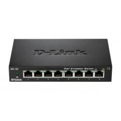 Switch niezarządzalny D-LINK 8-portowy DES-108 Metal Box