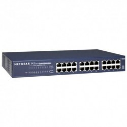 Switch Netgear JGS524 24 x 10/100/1000 Mb/s rack