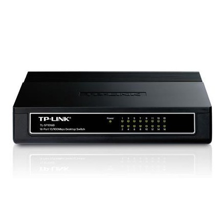 Switch TP-Link TL-SF1016D 16x10/100Mb