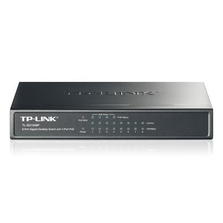 Switch TP-Link TL-SG1008P 8x10/100/1000 PoE