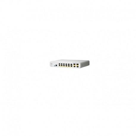 Switch zarządzalny Cisco Catalyst 2960C Switch 12 FE PoE, 2 x Dual Uplink, Lan Base