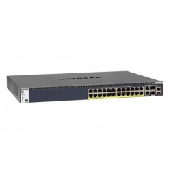 Switch zarządzalny Netgear M4300 Intelligent Edge POE+ (550W PSU) 24 x10/100/1000 2 x 1/10G SFP+ 2x 10G BASE-T