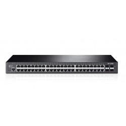 Switch zarządzalny TP-Link T2600G-52TS (TL-SG3452) JetStream L2 Gbit Switch 48x 10/100/1000 +4 SFP