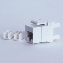 Moduł keystone UTP cat. 5e (RJ-45) 180° biały Digitalbox