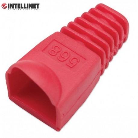 Osłonka Intellinet na RJ45, 10szt., czerwona IWP-CBOOT-RD