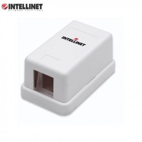 Obudowa gniazda Intellinet natynkowa Keystone, 1 port, biała IWP-MD SC-1