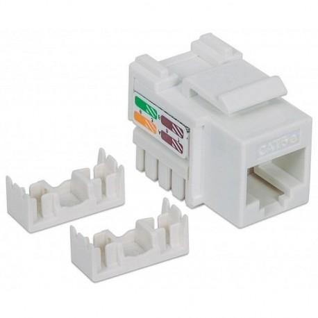 Moduł Keystone Intellinet RJ45 UTP Cat.5e, biały IWP-MD C5E/WH