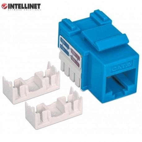 Moduł Keystone Intellinet RJ45 UTP Cat.6, niebieski IWP-MD C6/BL