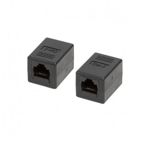 Adapter złączka sieciowa Kat.6 LogiLink NP0034A 2xRJ45