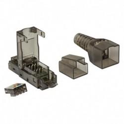 Wtyk RJ45 kat.6A UTP LogiLink MP0045 pozłacane styki 3µ, beznarzędziowy
