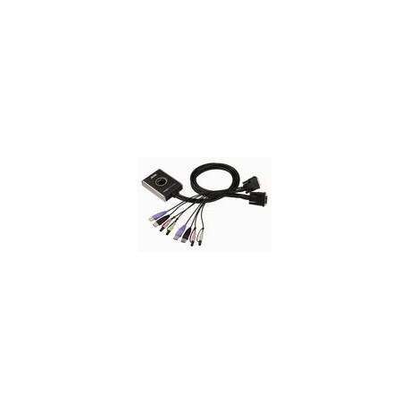 Przełącznik KVM ATEN DVI/USB/Audio CS682 (CS682-AT) 2-port.