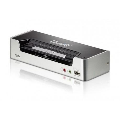 Przełącznik KVM ATEN HDMI/USB 2.0/Audio CS1792 (CS1792-AT-G) 2-port.