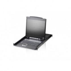 "Konsola LCD 19"" KVM ATEN CL1308N-ATA-AG 8-port. z kompletem kabli PROMOCJA"