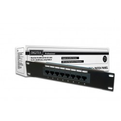 "Patch panel Digitus 10"" 8x RJ45 S/FTP kat. 5e 1U"