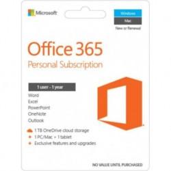 Oprogramowanie Office 365 Personal 32-bit/x64 Polski P2