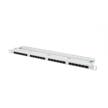 Patch panel Lanberg PPU5-0024-S 24 port 0.5U kat.5e szary
