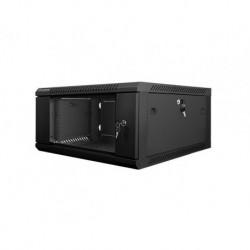"""Szafa instalacyjna wisząca 19"""" 4U 600x600 czarna Lanberg (flat pack)"""