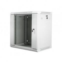 """Szafa instalacyjna wisząca 19"""" 12U 600x450 szara Lanberg (flat pack)"""