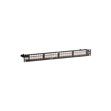 Patch panel UTP Linkbasic kat.6 24 porty RJ-45 1U