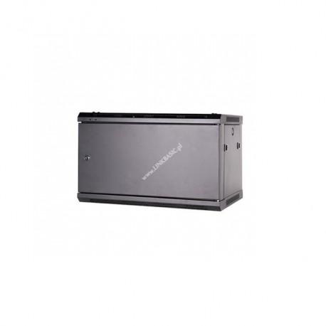 """Szafa 19"""" 15U wisząca 450mm stalowe drzwi (2 kart) Linkbasic"""
