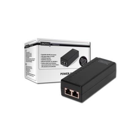 Zasilacz PoE PSE 802.3af DIGITUS  wyj. 48V 15,4W