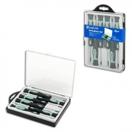 Zestaw narzędzi LogiLink WZ0020 6 śrubokrętów
