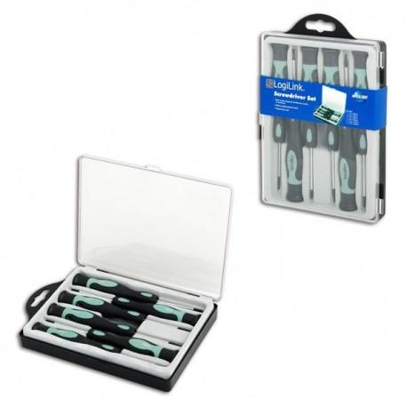 Zestaw narzędzi LogiLink WZ0021 6 śrubokrętów