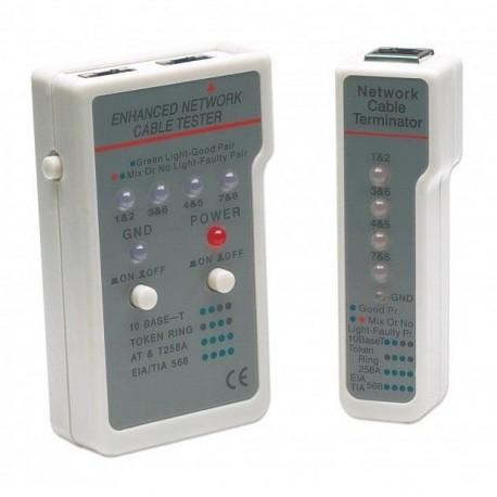 Tester okablowania Intellinet RJ11/RJ45  I-CT EN-01