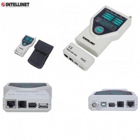 Tester okablowania Intellinet 5-W-1 RJ11/RJ45/USB/1394/BNC I-CT PRO-LAN4