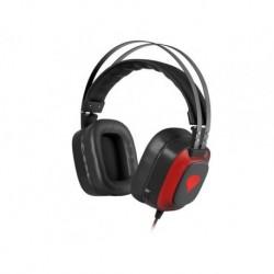 Słuchawki z mikrofonem Genesis Radon 720 Gaming Virtual 7.1 LED czarno-czerwone