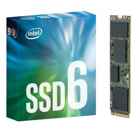 Dysk SSD Intel 600p 256GB M.2 PCIe NVMe 3.0 x4 (1570/540 MB/s) Reseller Single Pack