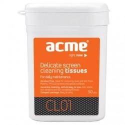 Chusteczki czyszczące TFT/LCD/CRT ACME CL01