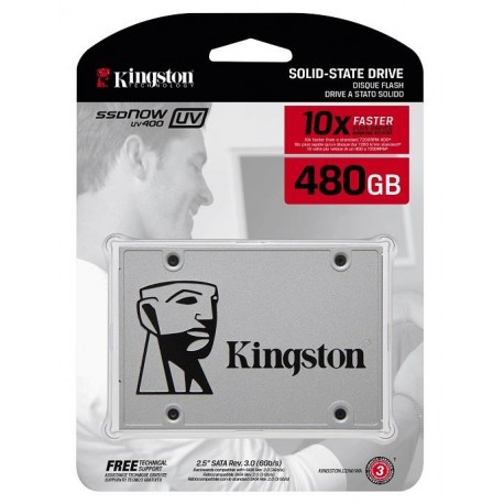 "Dysk SSD Kingston SSDNow UV400 480GB 2.5"" SATA3 (550/500) 7mm"