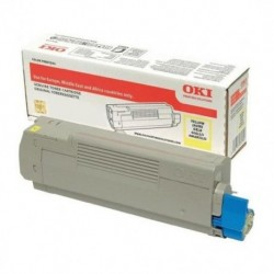 Toner OKI yellow 46508709