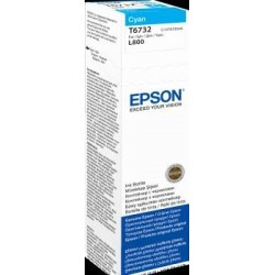 Tusz Epson Cyan 70 ml (T6732) do Epson L800