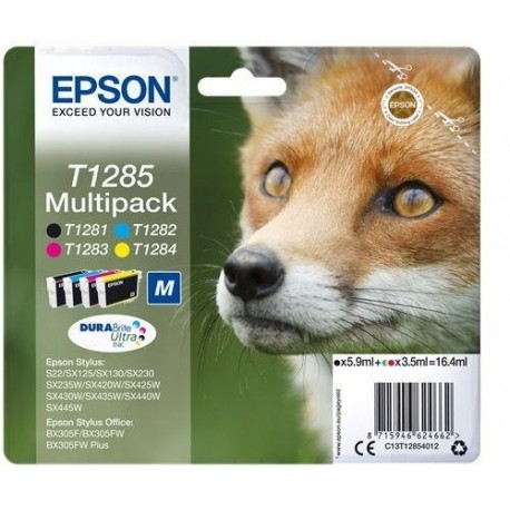 Zestaw tuszy Epson Stylus T1285 CMYK