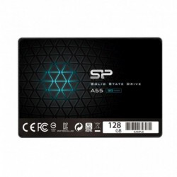 "Dysk SSD Silicon Power A55 128GB 2.5"" SATA3 (550/420) 3D NAND, 7mm"