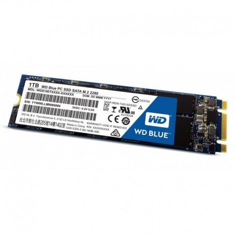 Dysk SSD WD Blue 1TB M.2 2280 (545/525 MB/s) WDS100T1B0B