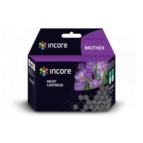 Tusz INCORE do Brother (LC1240Y) Yellow 20 ml