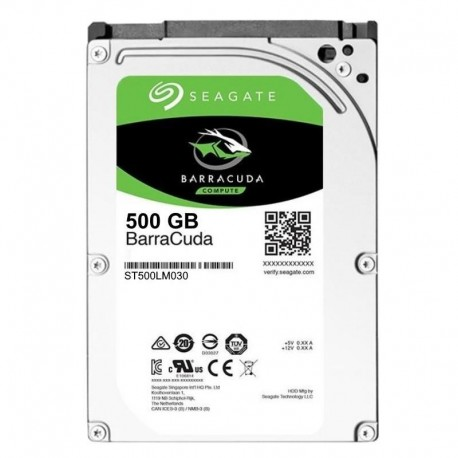 Dysk SEAGATE ST500LM030 2,5' BarraCuda® 500GB 7mm SATA3