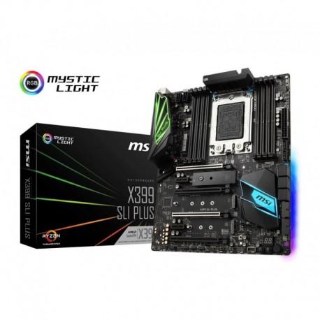 Płyta MSI X399 SLI PLUS /AMD X399/DDR4/SATA3/M.2/PCIe3.0/TR4/ATX
